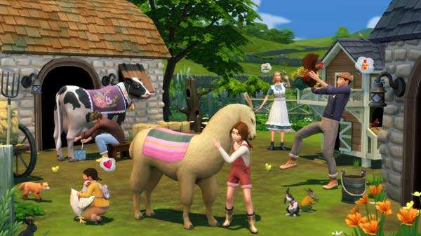 The Sims 4 Cottage Living free dlc