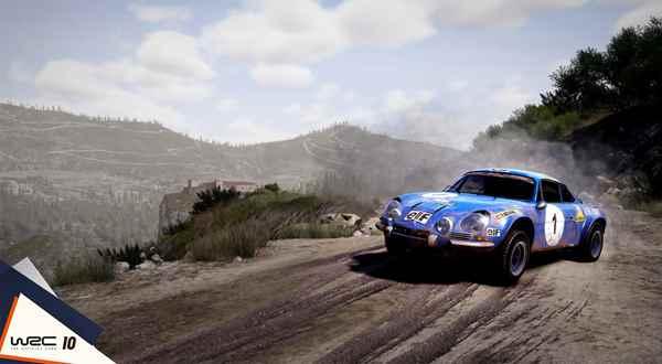 WRC 10 games pc